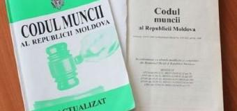 Codul muncii al Republicii Moldova, modificat. Iată prevederile!