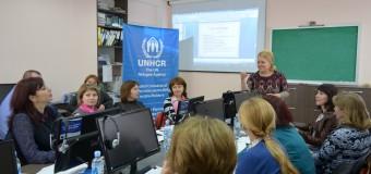 """Profesorii au participat la seminarul instructiv-metodic """"Predarea limbii române ca limbă nematernă"""""""