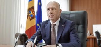Pavel Filip a felicitat noul Prim-ministru al României cu învestirea în funcție