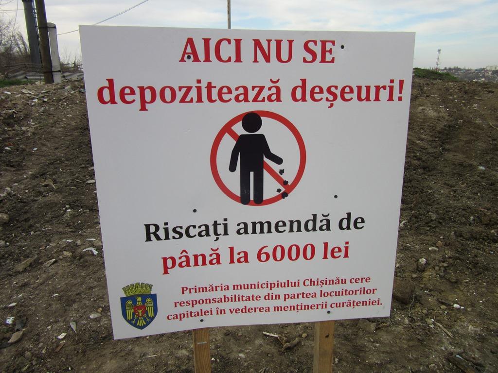 """48 de gunoiști neautorizate, lichidate de la începutul campaniei """"Curățenia generală de primăvară"""""""