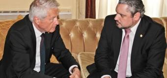 Ministrul Galbur, la discuții cu secretarul general al Consiliului Europei