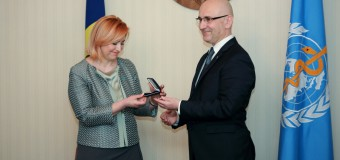 Oxana Domenti a fost premiată de Organizația Mondială a Sănătății. Vezi pentru ce merite!