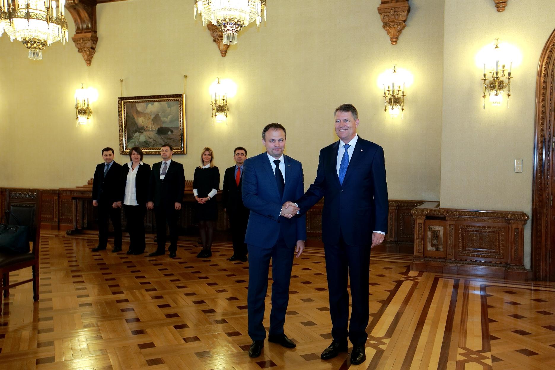Klaus Iohannis: Îmi doresc pentru cetățenii moldoveni aceeași ca și pentru cetățenii români