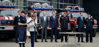 10 autospeciale de intervenție în situații excepționale, donate de Lituania
