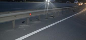Accident cu final tragic în capitală! Un motociclist şi pasagerul său au decedat, după ce s-au izbit violent de un parapet