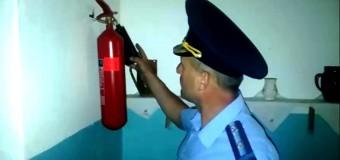 Pompierii verifică starea antiincendiară în toate instituțiile de învățământ din țară