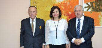 Președintele ICR, deschis în aprofundarea relațiilor de colaborare în domeniul culturii cu RM