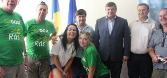 Iurie Chirinciuc și un grup de englezi au discutat despre despre un acord de colaborare