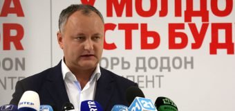 Igor Dodon: Aş fi fost ales preşedinte din primul tur, dacă…
