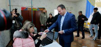 Andrian Candu: Am votat pentru un președinte care respectă Constituția și susține reformele începute