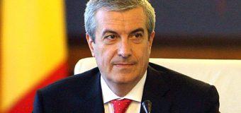 Călin Popescu – Tăriceanu: Este important ca la 30 octombrie 2016, toţi adepţii reunirii R. Moldova cu România să facă un front comun