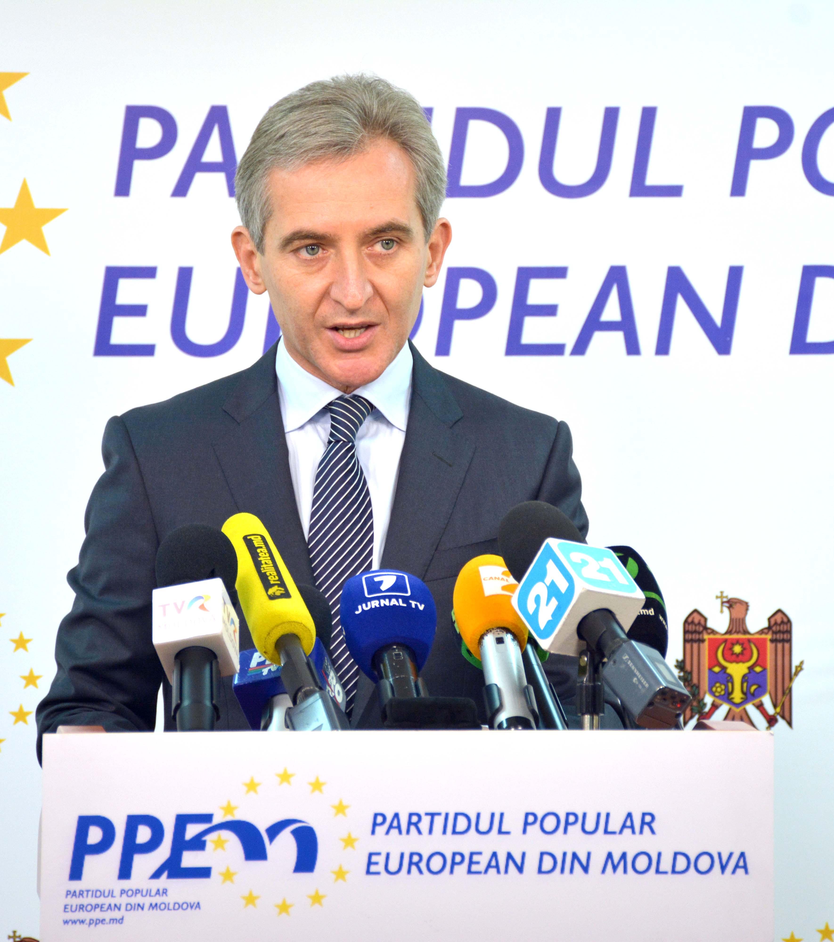 Iurie Leancă: Sper că Igor Dodon va da dovadă de responsabilitate și va accepta candidatura domnului Eugen Sturza