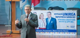 Mihai Ghimpu: Dragi studenți și profesori, Unirea cu România este salvarea noastră!