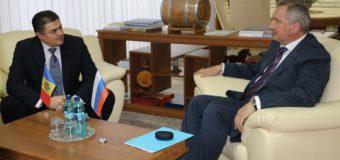 Calmîc și Rogozin au trecut în revistă prevederile Planului de acțiuni pentru dezvoltarea relațiilor comercial-economice