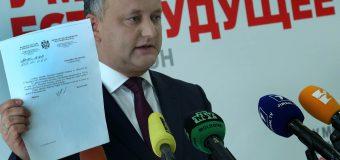 Igor Dodon – convins că va obţine victorie în turul II al alegerilor prezidențiale