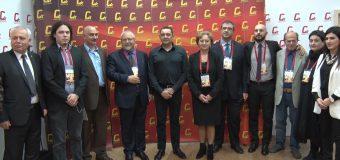 Zinaida Greceanîi l-a invitat pe liderul Mişcării Socialiste din Serbia la Congresul PSRM din decembrie