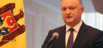 Dodon a solicitat inițierea procedurii de acordare RM a statutului de stat-observator în cadrul Uniunii Economice Euroasiatice