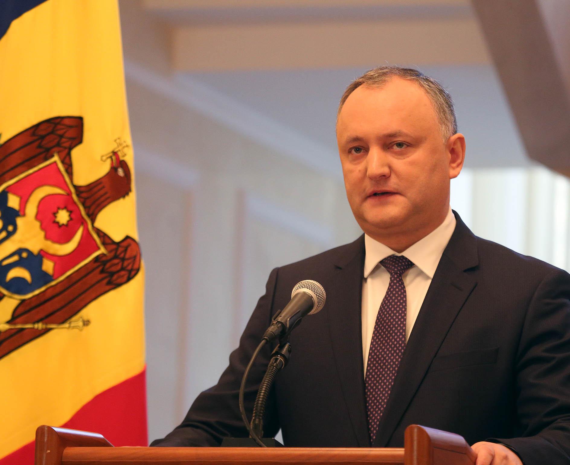 Reacția șefului statului la anunțul PDM privind atribuțiile în calitate de Comandant Suprem al Forțelor Armate