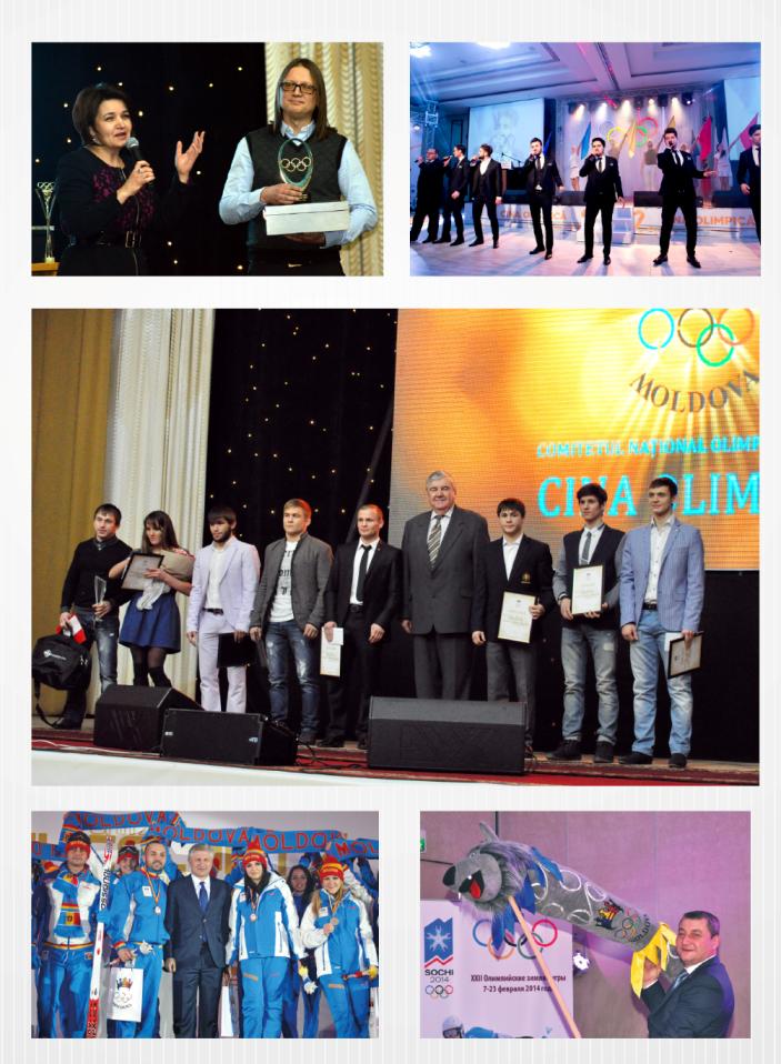 Comitetul Național Olimpic și Sportiv organizează anual Cina Olimpică
