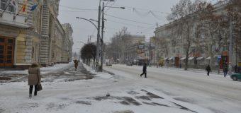 Situaţia în Chișinău ca urmare a condițiilor meteo