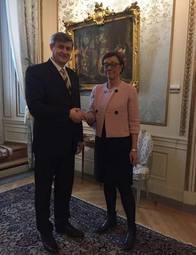 Secretarul general al MAEIE – la Stockholm. Vezi cu cine a discutat!