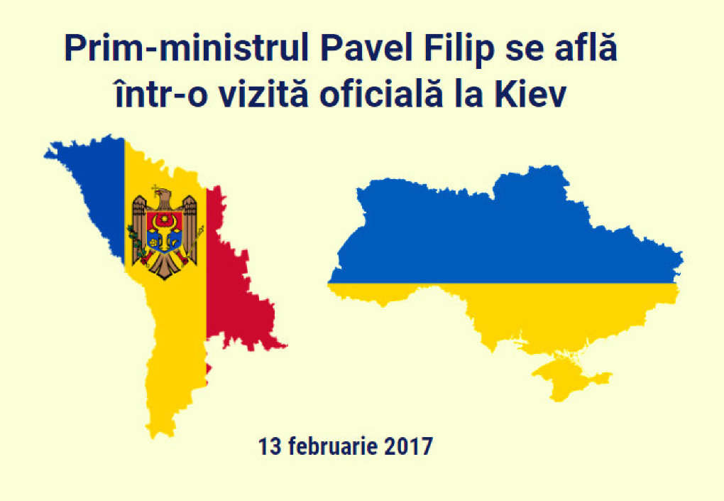 Pavel Filip efectuează astăzi prima sa vizită oficială la Kiev, Ucraina