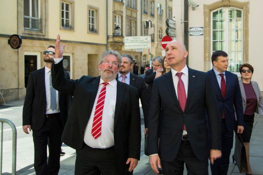 Președintele legislativului luxemburghez a spus că țara sa va susține Republica Moldova în realizarea reformelor