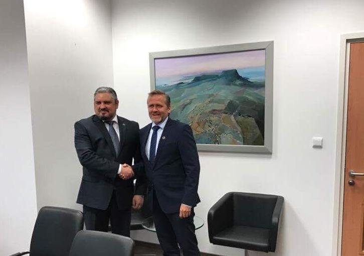 Ministrul Galbur a adus mulţumiri guvernului Danemarcei pentru asistenţa valoroasă acordată Republicii Moldova