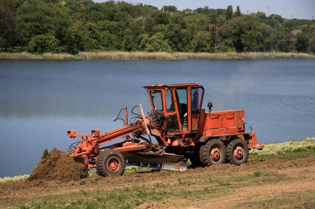 Primarul de Orhei a dispus reconstruirea și amenajarea completă a lacului din oraş în timp-record