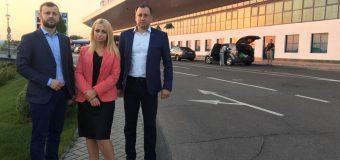 """Reprezentanţii Partidului """"ŞOR"""" şi avocaţii lui Ilan Șor efectuează o vizită oficială la Consiliul Europei pentru a discuta cazul primarului de Orhei"""