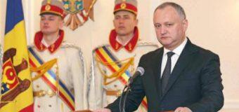 Președintele Dodon: Rezolvarea conflictului transnistrean depinde, în primul rând, de ce va fi în Chișinău după parlamentare