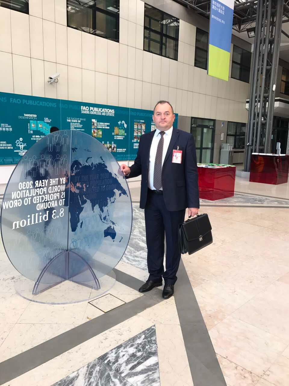 Viceministrul Agriculturii, Iurie Ușurelu participă la Conferința FAO, desfășurată la Roma