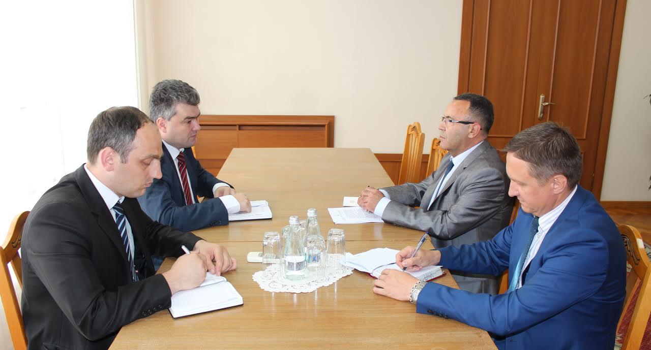 Schimb de opinii pe marginea unor aspecte legate de reglementarea transnistreană între Gheorghe Bălan și Ambasadorul Ucrainei