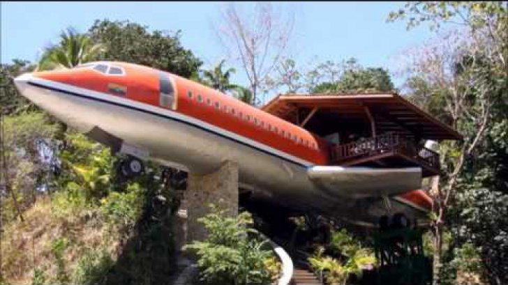 Apartament de lux într-un avion. Imagini spectaculoase