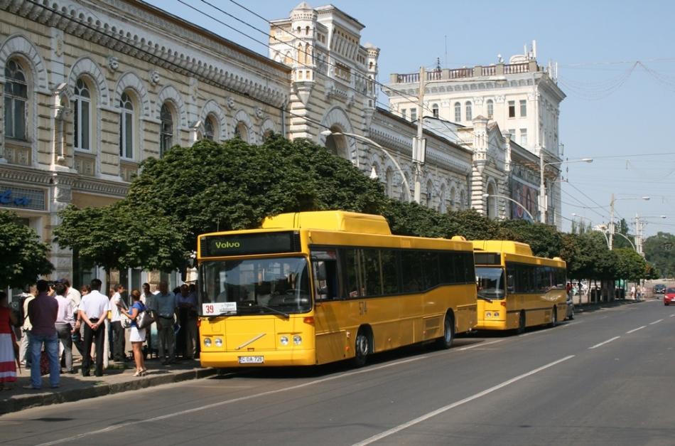 Primăria municipiului Chișinău vrea să cumpere autobuze noi