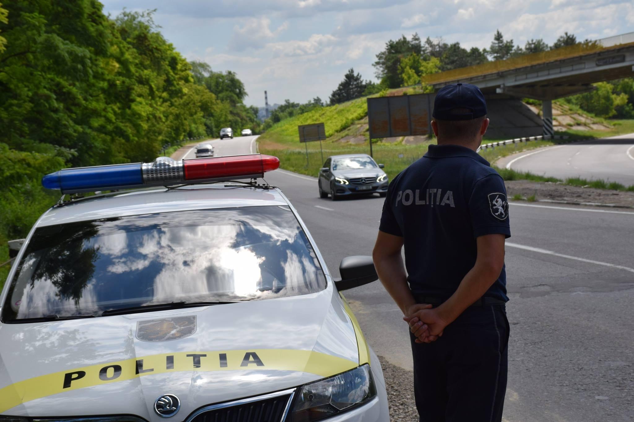 Mâine, ofițerii de patrulare vor acționa pe toate traseele din țară