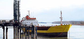 Volumul de mărfuri transbordate prin Portul Giurgiulești a sporit de 1,5 ori
