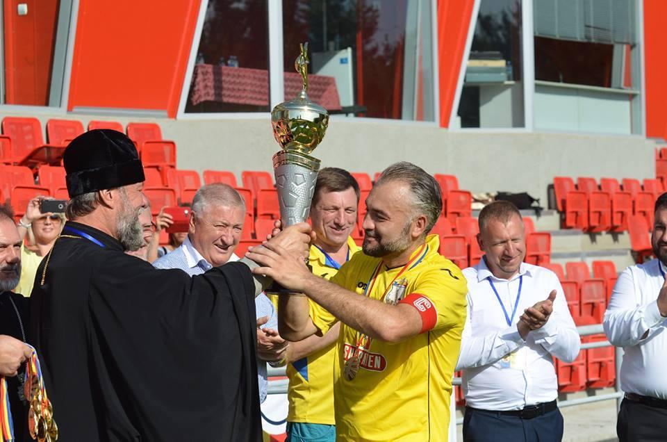Echipa de fotbal a Mitropoliei Moldovei a câștigat Prima ediţie a Turneului internaţional ortodox la fotbal! (foto)