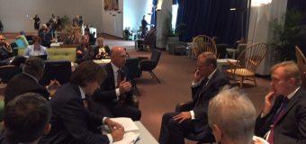 Pavel Filip a avut o întrevedere cu Președintele Consiliului European, Donald Tusk(FOTO)