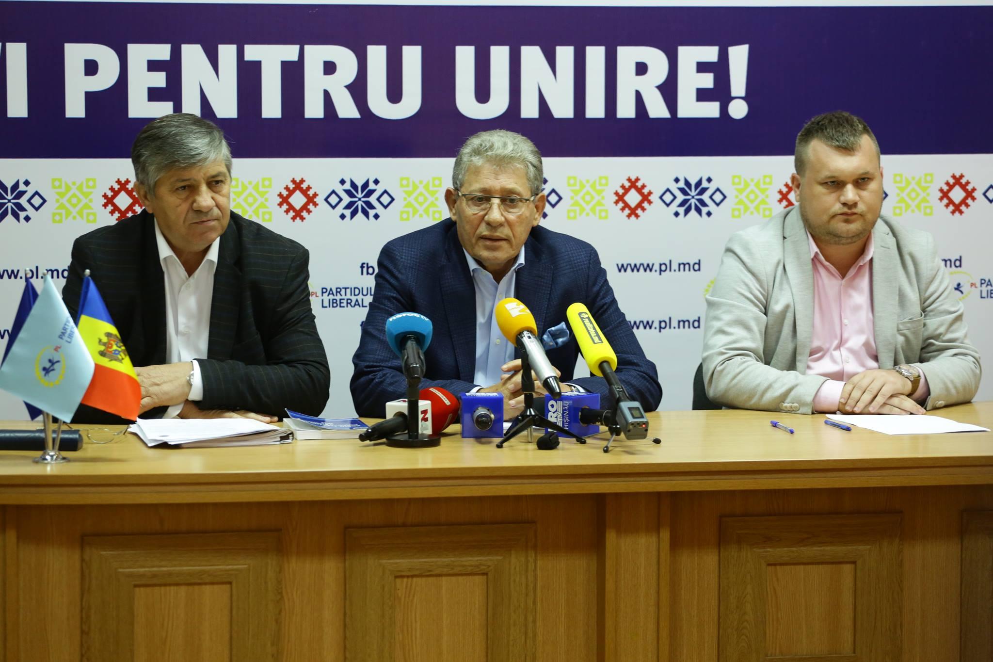 Liberalii iau atitudine! Află care e poziția lor referitor la referendumul din mun. Chișinău!