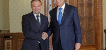 Iohannis către Candu: Singurul lucru care ne interesează este ca Moldova să fie bine