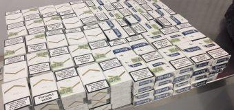 Două tentative de trecere a frontierei vamale cu 11 800 de țigări (foto)