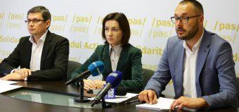 Inițiativa PAS privind finanțarea partidelor politice