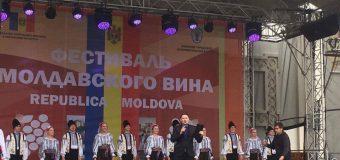 Festivalul Vinului Moldovenesc s-a desfășurat la Minsk, sub egida Președintelui Republicii Moldova