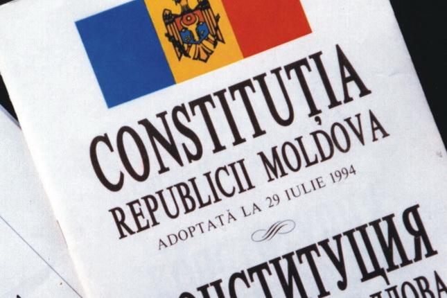 Ce s-a decis în privința examinării introducerii limbii române în Constituția Republicii Moldova