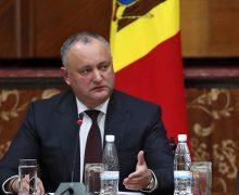"""Igor Dodon: """"În turul doi unii încearcă din nou să revină la argumentele geopolitice și la lupta geopolitică"""""""