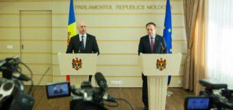 Pavel Filip şi Andrian Candu vor prezida ședința comună Guvern – Parlament