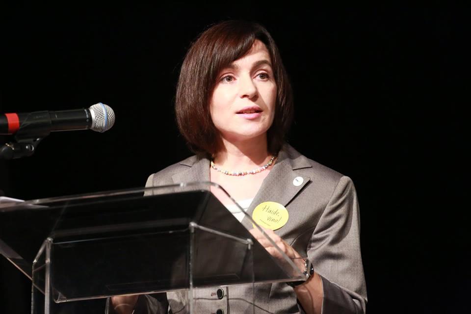 Maia Sandu: Cu un an în urmă, am mers să votăm, pentru că ne doream o schimbare a clasei de politicieni de care ne este rușine