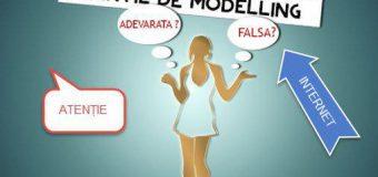 Poliția atenționează: Agenții de modeling false în internet, fac noi victime!