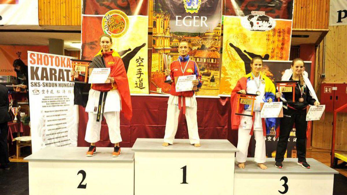 Luptătorii moldoveni au cucerit 12 medalii la Campionatul Mondial de karate